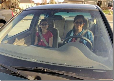 Ellen driving